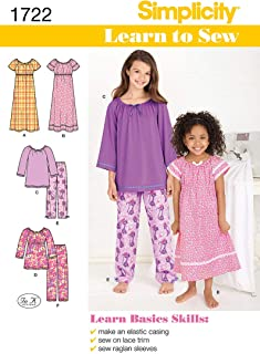 nightgown patterns simplicity