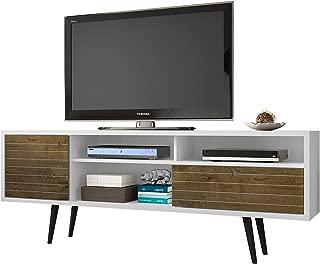 mid century modern tv stand west elm