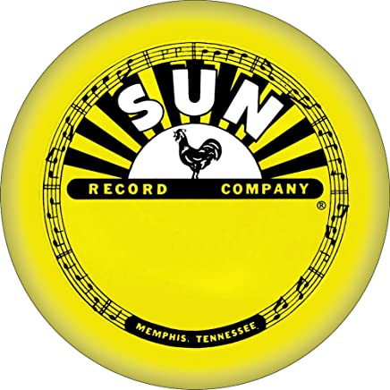 Sun Records - Classic Yellow Rooster Label Logo - Refrigerator Magnet