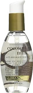 Ogx Coconut Milk Serum Anti-Breakage 4 Ounce (118ml) (3 Pack)