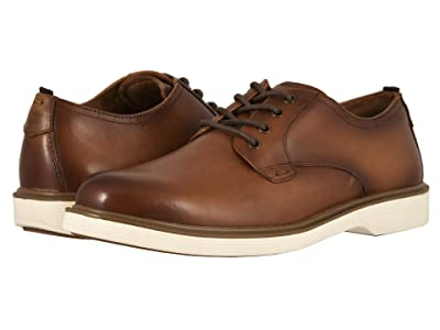Florsheim Supacush Plain Toe Oxford (Cognac Smooth) Men