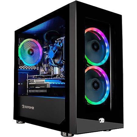 iBUYPOWER Gaming PC Computer Desktop Element Mini 9300 (AMD Ryzen 3 3100 3.6GHz, AMD Radeon RX 550 2GB, 8GB DDR4 RAM, 240GB SSD, Wi-Fi Ready, Windows 10 Home)