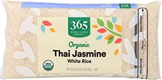365 by Whole Foods Market, Organic Long Grain Rice, White Thai Jasmine, 32 Ounce