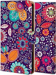 Android One S1 ケース 手帳型 アンドロイド ワン S1 カバー おしゃれ かわいい 耐衝撃 花柄 人気 純正 全機種対応 WX012-花 レトロ シンプル フラワー 3637570