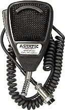 Astatic 302-636LB1 Black Noise Cancelling 4 Pin CB Microphone (Bulk)