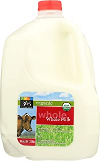 365 Everyday Value, Organic Whole Milk, 128 oz (Packaging May Vary)