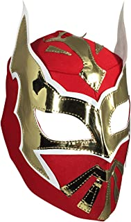 SIN CARA Youth Lucha Libre Wrestling Mask - KIDS Costume Wear - Red