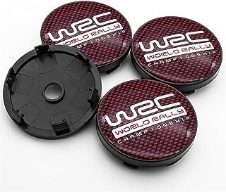 Wielnaafdoppen naafkappen wielen WRC-logo for rally racing auto 4 stks 56mm en 60mm embleem wiel midden hub caps badge cov...