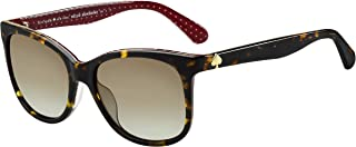 Kate Spade Women's 201485 Sunglasses, Color: Havana, Size: 54