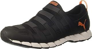 Puma Unisex's OSU V4 Fm Black-Periscope-vermillio Running Shoes