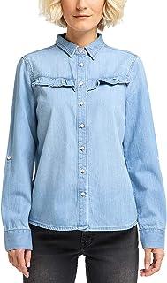 Amazon.es: camisa vaquera mujer - 4 estrellas y más