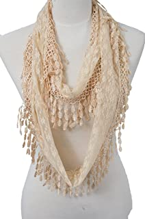 Best lace infinity scarf Reviews