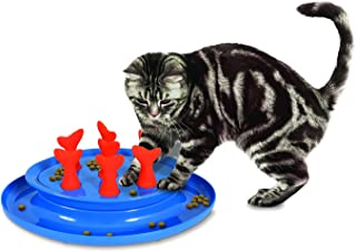 Petmate Jackson Galaxy Go Fish Slow Feeder Puzzle Bowl