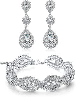 Best earrings and bracelet set Reviews