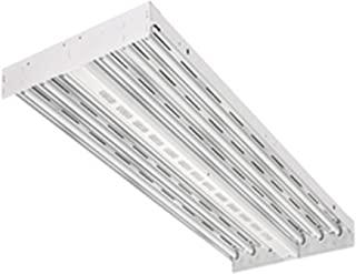 Lithonia Lighting IBZT5 6 Contractor Select 6-Light T5HO Fluorescent High Bay, 120 Volts, 54 Watts, White