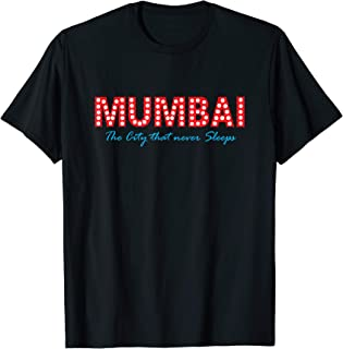 Swag Swami Mumbai The City That Never Sleeps T-Shirt