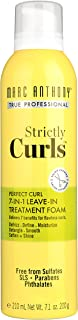 Marc Anthony True Professional Strictly Curls Perfect Curl 7-in-1 Treatment Foam, 7.05 Ounce