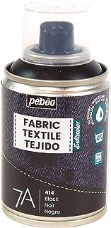 Pébéo - Peinture en Spray pour Textiles 7A Spray - Tissus Naturels et Synthétiques - Base Eau - Sans Solvant - Résistante ...