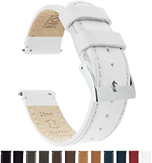 83d3a3c9c6f78 Barton Quick Release - Top Grain Leather Watch Band Strap - Choice of Width  - 16mm
