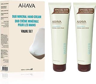 Sponsored Ad - AHAVA Duo Active Dead Sea Minerals Hand Cream 2 x 150 ML - Value Set, 5.1 fl. oz.