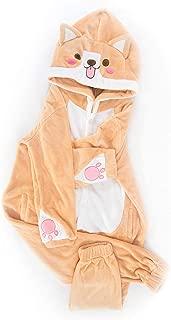 Nayo The Corgi - Super Soft Flannel Corgi One Piece Pajama