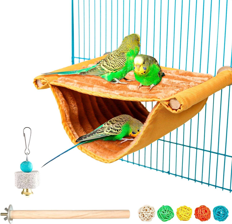 Bird Nest House Winter Warm Over item handling ☆ Parrot Bi Tent Bed Toy Hammock Max 80% OFF