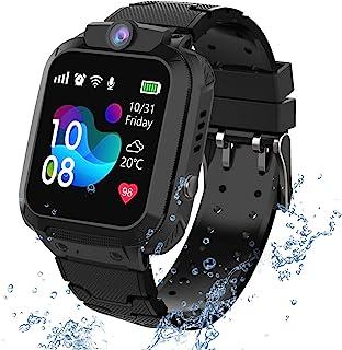 Waterdichte smartwatch voor kinderen; met diverse functies; o.a. lokalisatie via GPS, touchscreen, camera, telefoon, chat,...