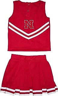 Creative Knitwear University of Nebraska Toddler and Youth 3-Piece Cheerleader Dress