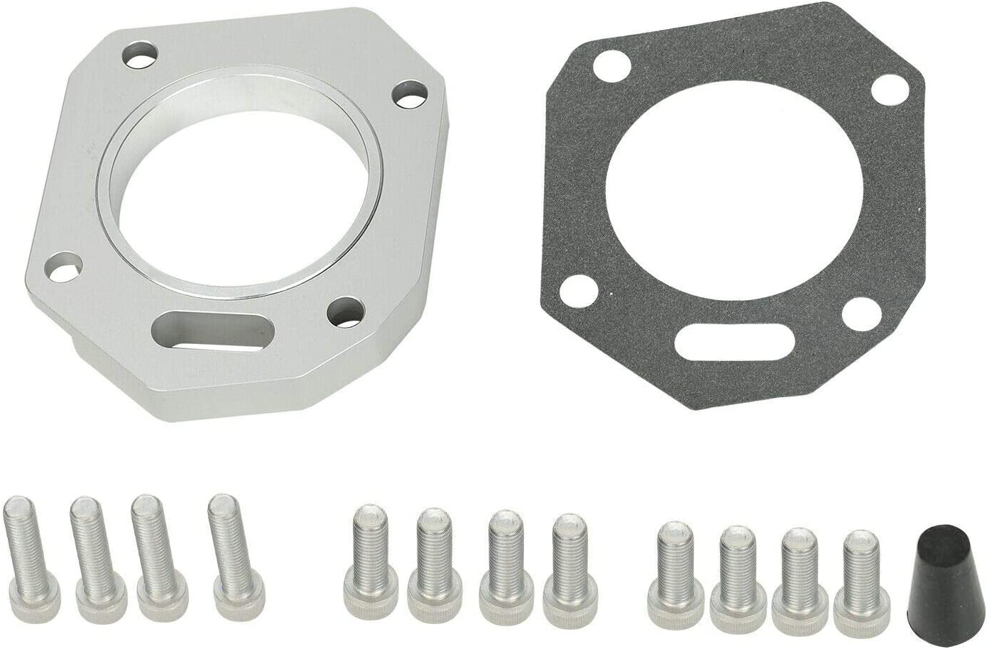 BETTERCLOUD Dual 5% OFF supreme Throttle Body Adapter k24RB K20 for Replacement