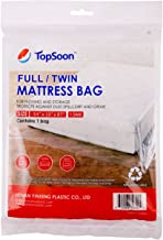 TopSoon Plastic Mattress Bag for Full/Twin Size 140cm x 220cm