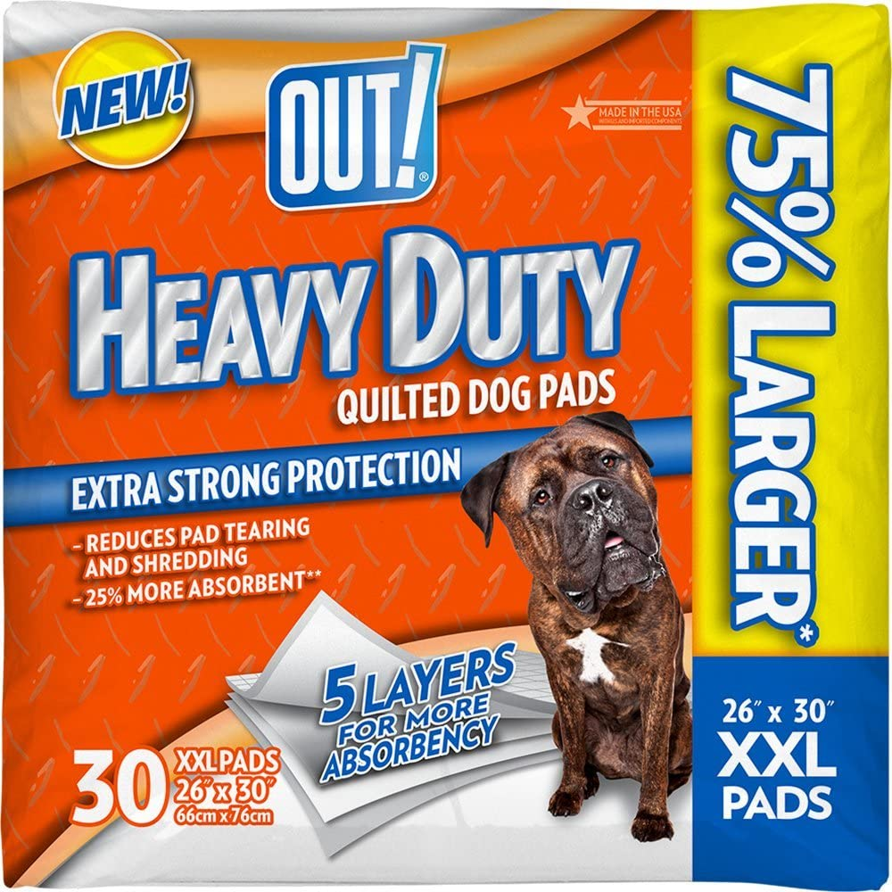 OUT 30 Popular overseas Count Heavy Duty XX-Large Low price 2 pack - Pads Dog