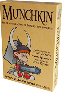 Steve Jackson Games 1408SJG Munchkin Card Game (2010 Revised Edition) Strategy Game