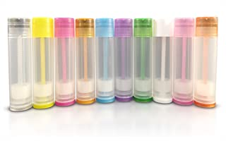 50 New Empty Lip Balm Containers Tubes 5.5ml - 3/16 ounce (Assorted)