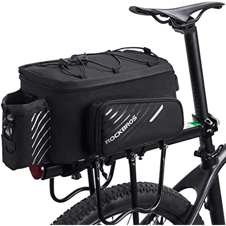 Portable Vélo Imperméable Vélo Sac rack arrière Sac Siège Coffre Sac à dos Case