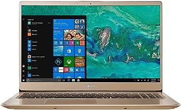 2019 Acer Swift 3 Premium Laptop | Intel Core i7-8550U Quad-Core Processor | 16GB Memory | 512G SSD | Intel UHD Graphics 620 | Backlit Keyboard | Fingerprint | Windows 10 Home | Gold