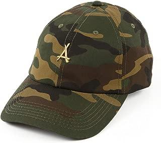 """Tha Alumni Clothing (アルムナイクロージング) ロゴ 6パネル ストラップバックキャップ ウッドランドカモ""""24K CAMO DAD HAT"""" [並行輸入品]"""