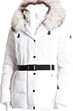 Michael Michael White Puffer Coat