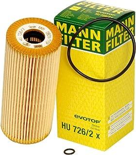Mann-Filter HU 726/2 X Metal-Free Oil Filter (Pack of 2)