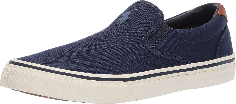 Polo Ralph Lauren Men's Thompson Sneaker Newport Navy 9 D US