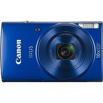 Canon IXUS 190 20MP Digital Camera with 10x Optical Zoom (Blue)