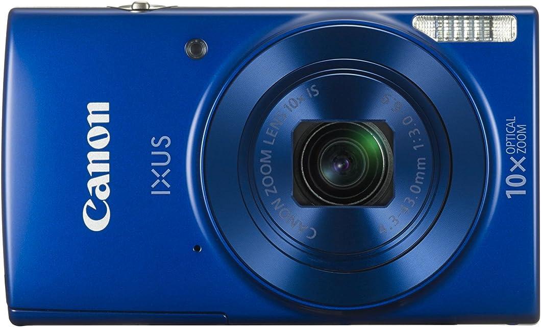 Canon IXUS 190 - Cámara compacta de 20 MP (Pantalla de 2.7 20x ZoomPlus Modo Smart Auto Date Button Easy Auto Creative Filter Canon Camera Connect WiFi) Azul