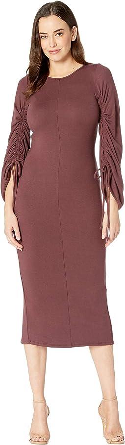 Luxe Rib Clairissa Dress
