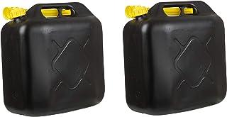 2x Kraftstoffkanister 20L Benzinkanister Diesel Reserve Kanister für Auto Roller