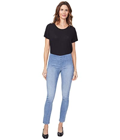NYDJ Skinny Pull-On Capri Jeans in Clean Coheed (Clean Coheed) Women