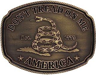 Montana Silversmiths 2nd Amendment Series Attitude Western Belt Buckle