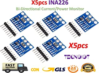 TECNOIOT 5pcs INA226 IIC I2C Interface Bi-Directional Current/Power Monitoring Sensor