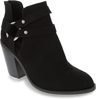 Rampage Boots for Women Ankle Boot with Cut Out Womens Bootie Vineyard