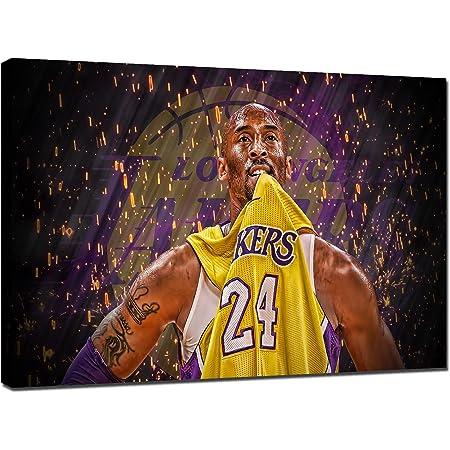 Amazon.com: TWO J Canvas Wall Art Kobe Bryant Posters LA Lakers ...
