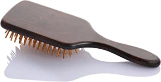 IHealthcomfort Wooden Comb,Natural Wood Bristles Scalp Massage with Air Bag Hairbrush Large Paddle Hair Care Brush Head Beauty SPA Massager for All Hair TypesAnti-StaticElectricity 10x3.5x1.5inch