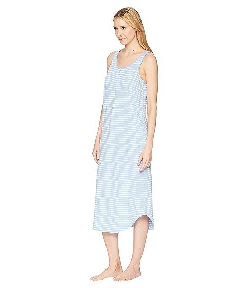 Striped Vestido Lauren Knet Tank raya azul Ralph LAUREN Ballet TqCwFF